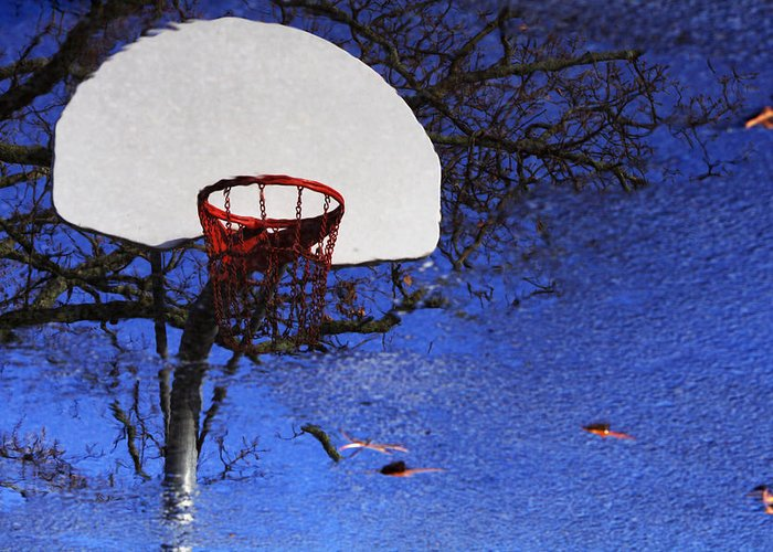 Basketball Greeting Card featuring the photograph Hoop Dreams by Jason Politte