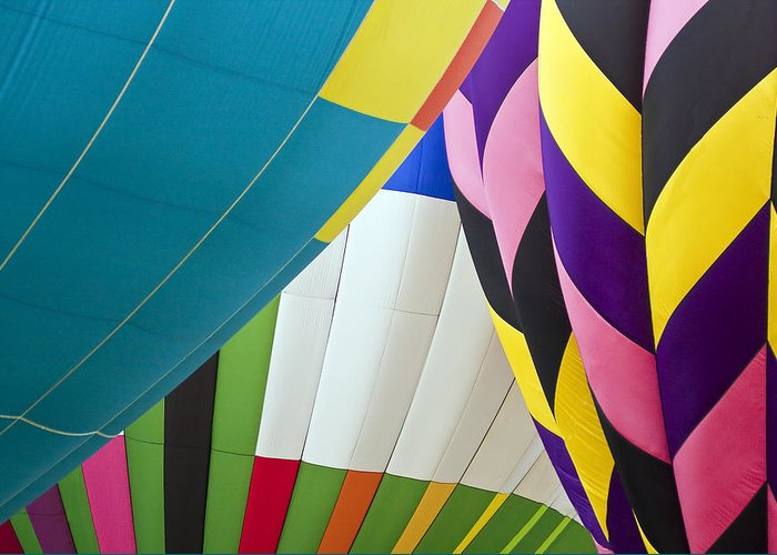 Transportation Greeting Card featuring the photograph Hot Air Balloon by Marcia Colelli