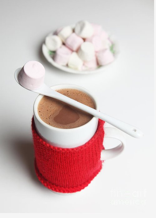 Hot Chocolate Greeting Card featuring the photograph Hot Chocolate by Ros Drinkwater
