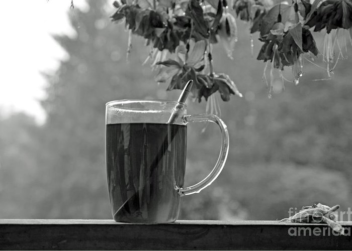 Licorice Greeting Card featuring the photograph Hot Licorice Tea by Lila Fisher-Wenzel