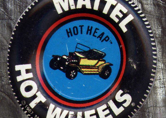 Garage Greeting Card featuring the photograph Hot Wheels Hot Heap by Del Gaizo