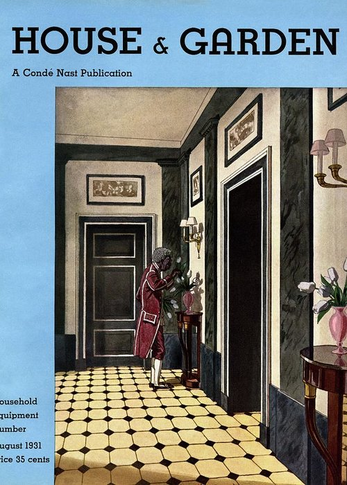 House And Garden Greeting Card featuring the photograph House And Garden Household Equipment Number by Pierre Brissaud