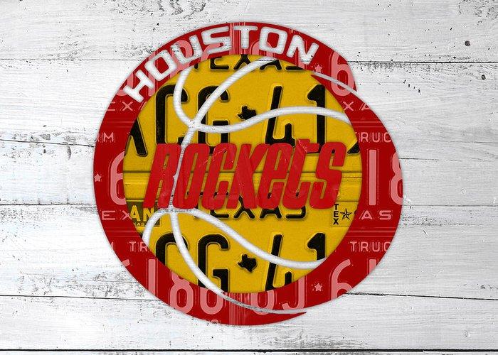 Artest Houston Rockets Greeting Cards