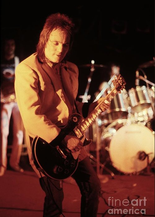 Steve Marriott Greeting Card featuring the photograph Humble Pie by Concert Photos
