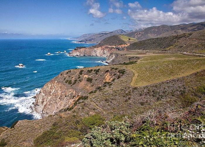Beaches Greeting Card featuring the photograph Hurricane Point Vista by Stuart Gordon
