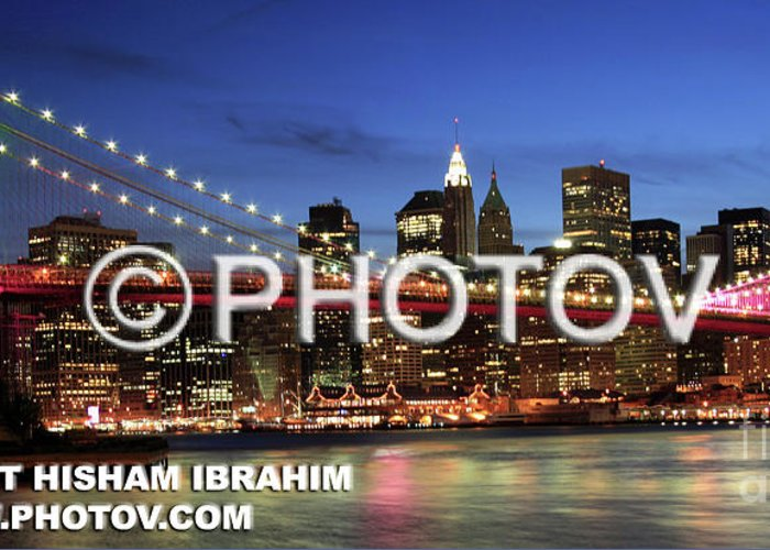 Usa Greeting Card featuring the photograph I Love New York - Limited Edition by Hisham Ibrahim