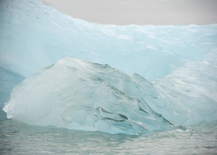 Nature Greeting Card featuring the photograph Iceberg, Norway by Science Photo Library