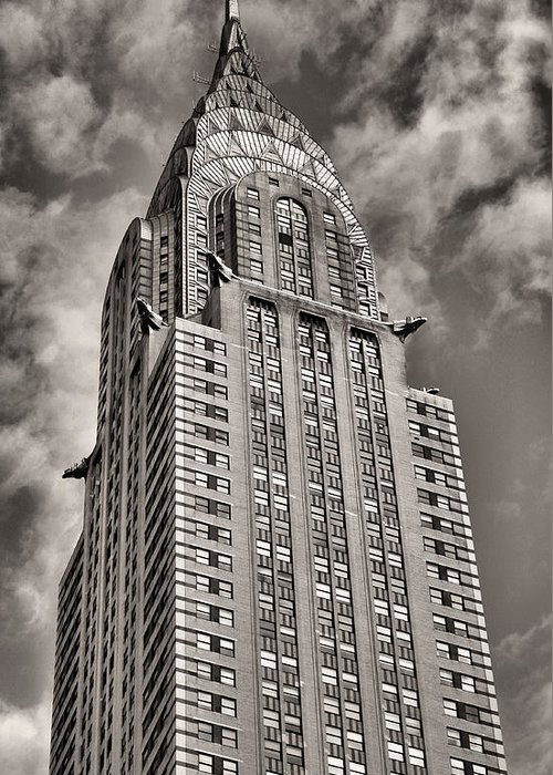 Chrysler Building Greeting Card featuring the photograph Iconic by JC Findley