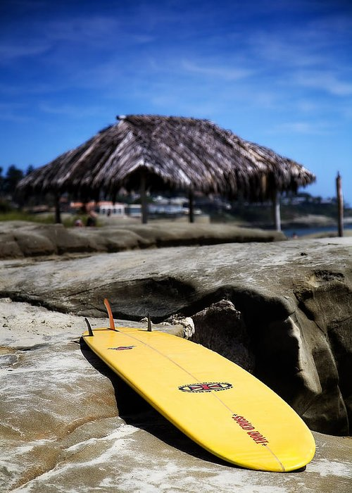 La Jolla Greeting Card featuring the photograph I'm Board by Peter Tellone