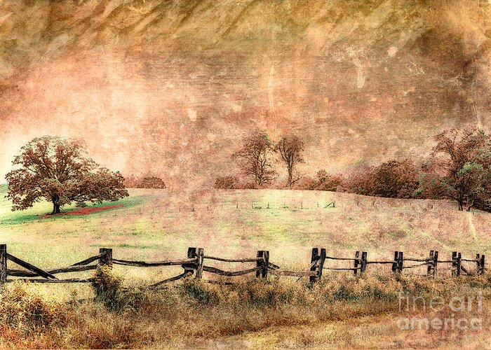 Blue Ridge Parkway Greeting Card featuring the photograph Imaginary Morning On The Blue Ridge II by Dan Carmichael
