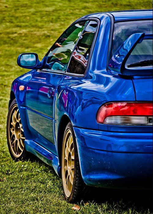 Subaru Impreza Greeting Card featuring the photograph Impreza 22b by Phil 'motography' Clark