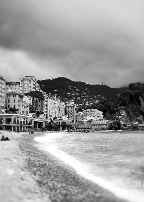 Camogli Greeting Card featuring the photograph In A Dream.... by Ivy Ho