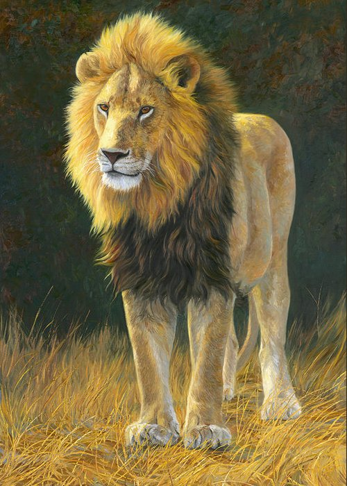 Lion Greeting Cards