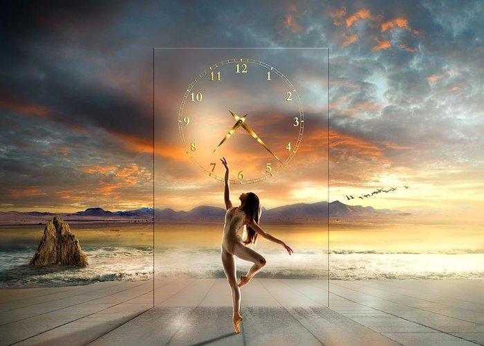 Ballet Mixed Media Greeting Cards
