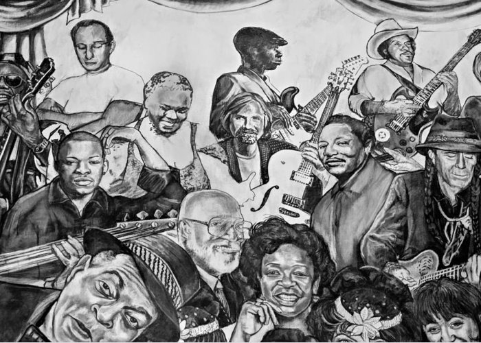 Nola Greeting Card featuring the photograph In Praise Of Jazz V by Steve Harrington