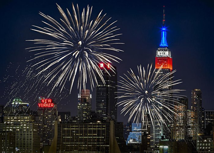 4th Of July Greeting Card featuring the photograph Independence Day by Eduard Moldoveanu