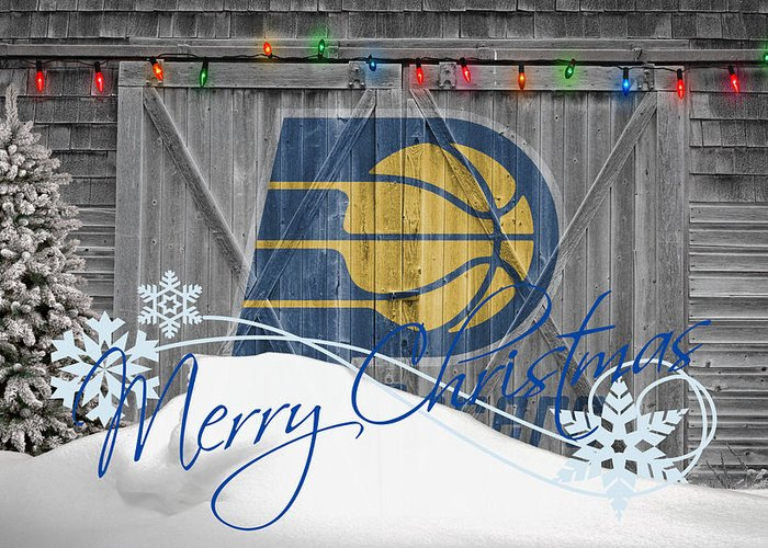 Pacers Greeting Card featuring the photograph Indiana Pacers by Joe Hamilton