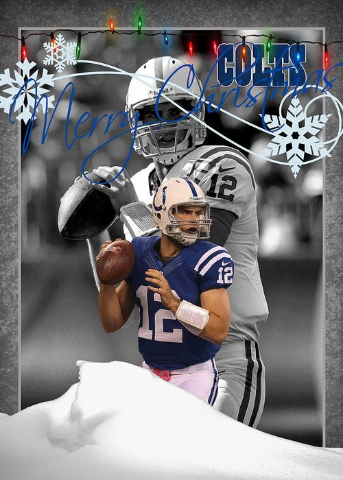 Andrew Luck Greeting Cards