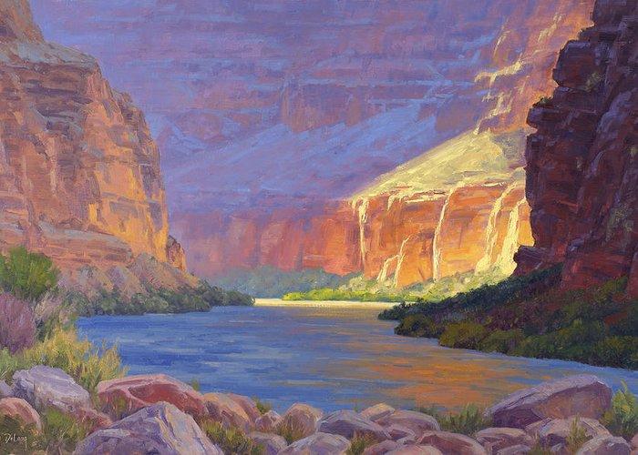 Colorado River Paintings Greeting Cards