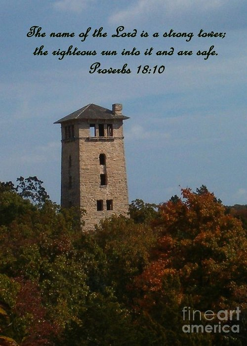 Water Tower Greeting Card featuring the photograph Inspirations 5 by Sara Raber