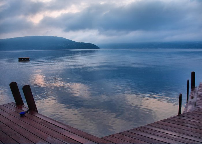 Keuka Lake Greeting Card featuring the photograph Interlude by Steven Ainsworth