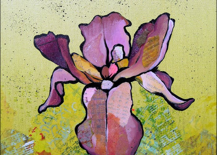 Iris Greeting Cards