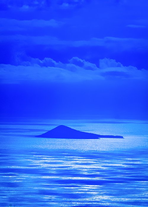 Blue Hawaii Greeting Card featuring the photograph Island Of Yesterday by Christi Kraft