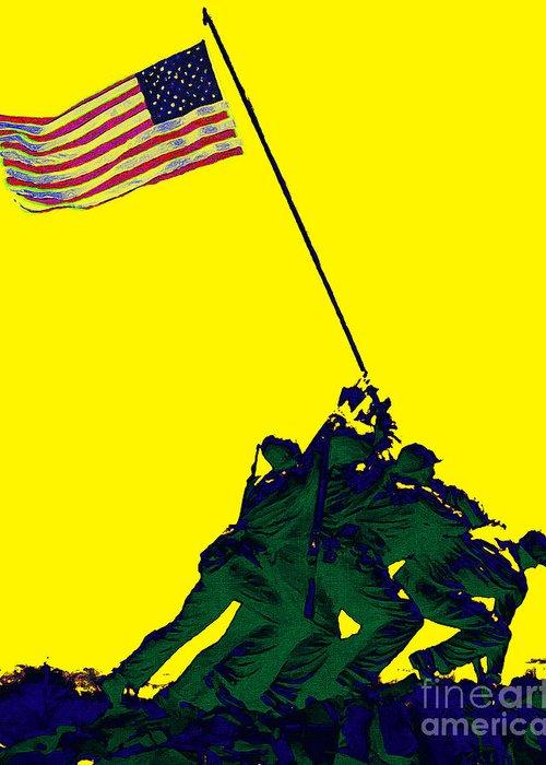 Iwo Jima Greeting Card featuring the photograph Iwo Jima 20130210p118 by Wingsdomain Art and Photography