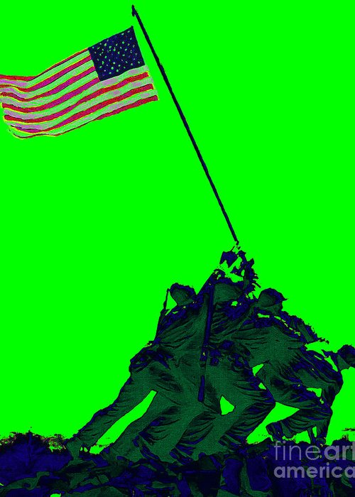 Iwo Jima Greeting Card featuring the photograph Iwo Jima 20130210p180 by Wingsdomain Art and Photography