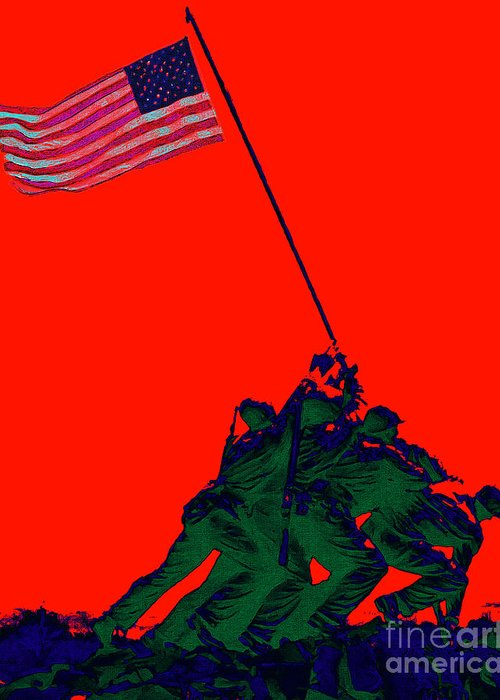 Iwo Jima Greeting Card featuring the photograph Iwo Jima 20130210p65 by Wingsdomain Art and Photography