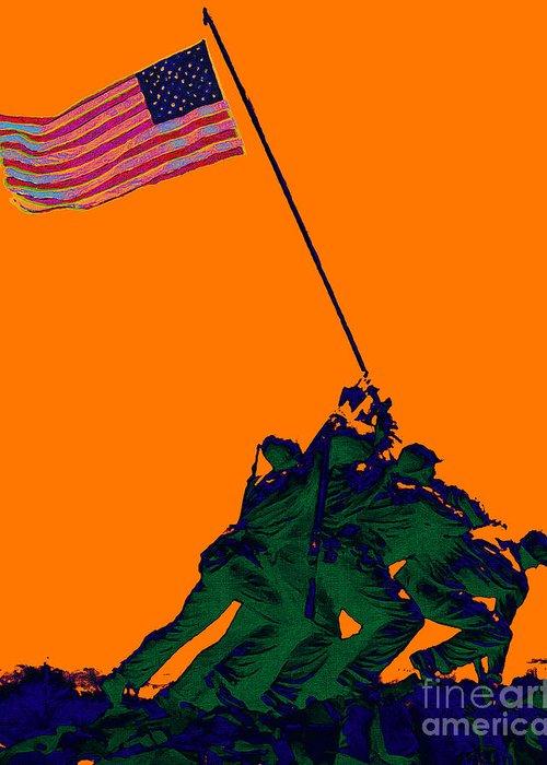 Iwo Jima Greeting Card featuring the photograph Iwo Jima 20130210p88 by Wingsdomain Art and Photography