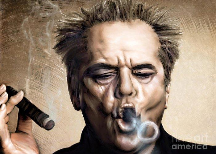 Jack Nicholson Greeting Cards