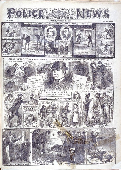 Jack The Ripper Greeting Cards