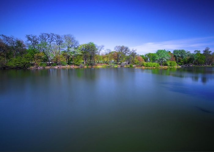 Banjiwayume Photography Greeting Card featuring the photograph Jackson Park by Jonah Anderson