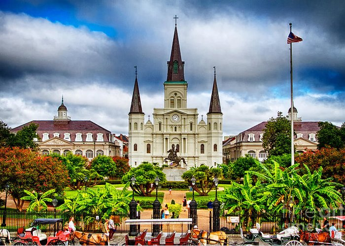 Designs Similar to Jackson Square New Orleans