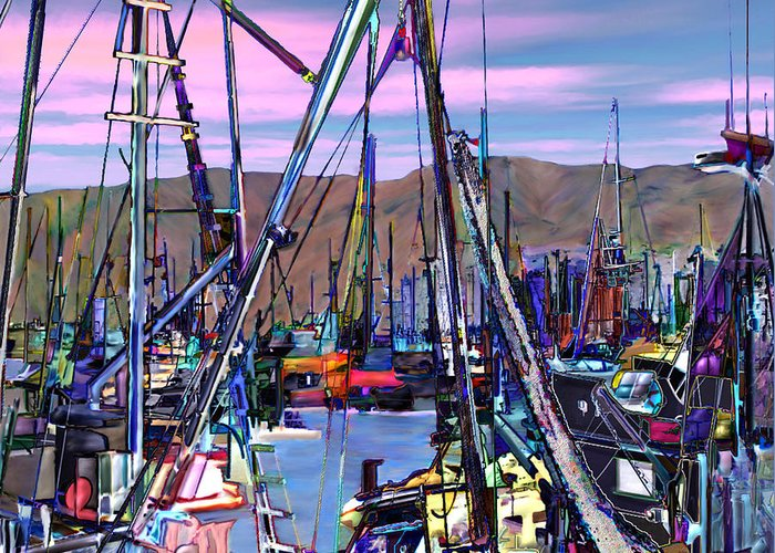 Harbors Greeting Card featuring the photograph Jammin At Twilight by Kurt Van Wagner