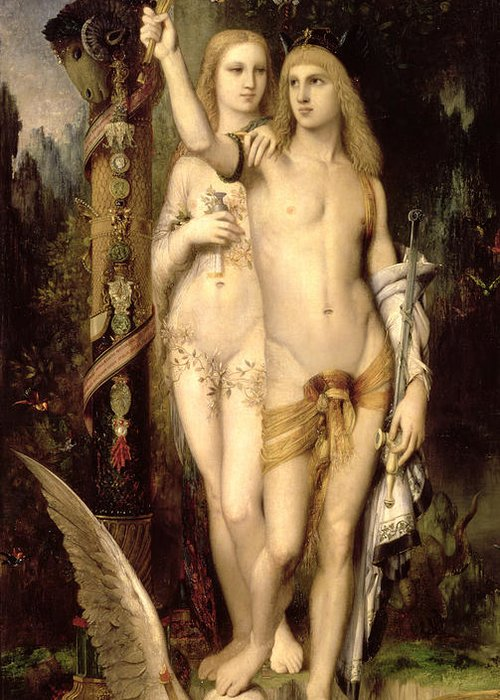 Gustave Moreau Poster Greeting Cards