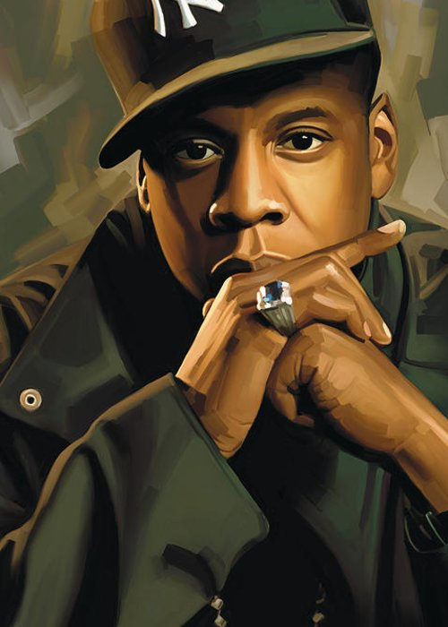 Jay Z Greeting Cards