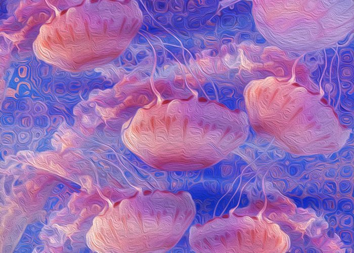 Zooplankton Greeting Cards