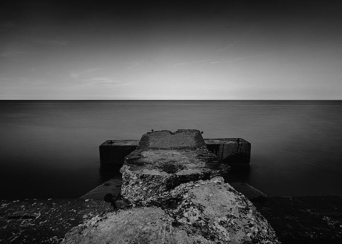 Www.cjschmit.com Greeting Card featuring the photograph Jetty by CJ Schmit