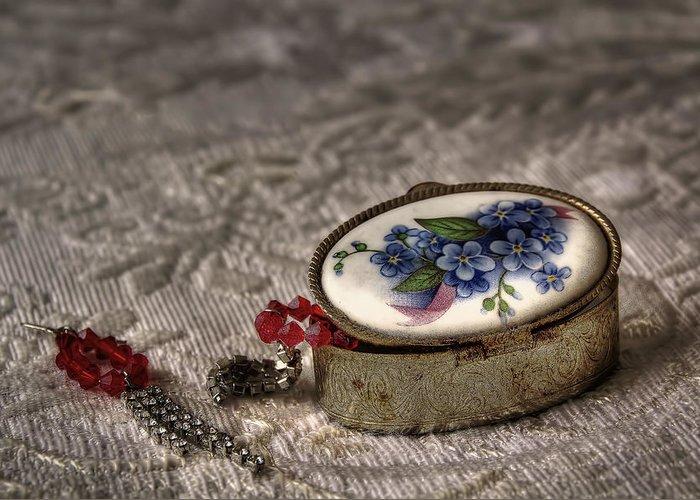 Jewelry Greeting Card featuring the photograph Jewelry by Leonardo Marangi