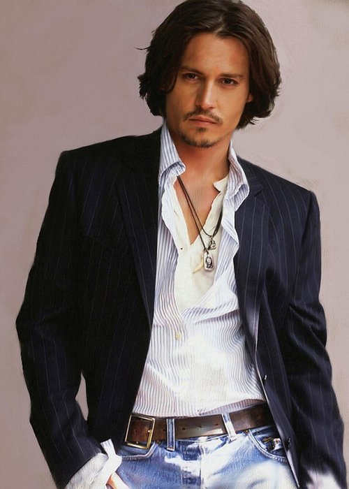 Johnny Depp Greeting Cards