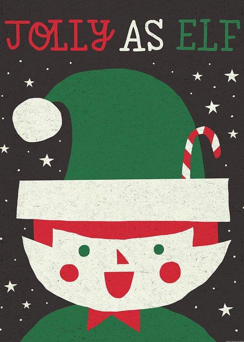 Christmas Elf Greeting Cards
