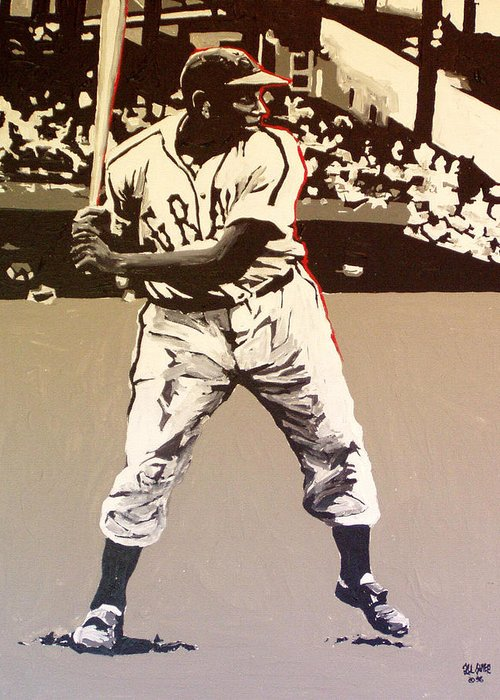 Josh Gibson Greeting Cards