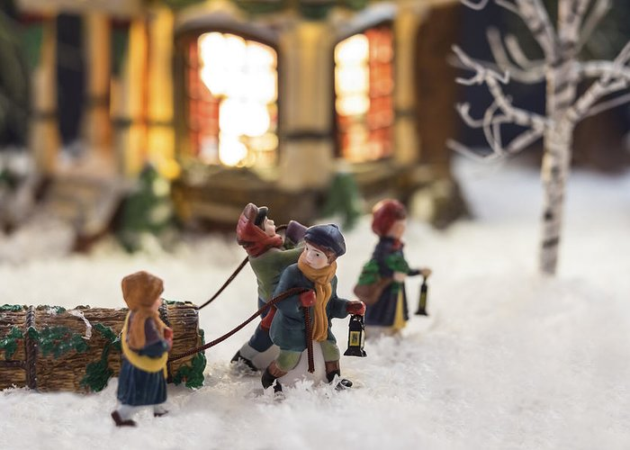 Christmas Cards Greeting Card featuring the photograph Journey Home by Caitlyn Grasso