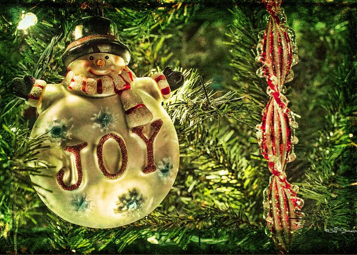 Joy Greeting Card featuring the photograph Joy by Jeff Swanson