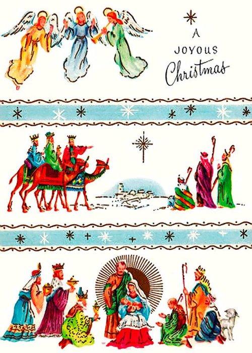 Joyous Greeting Card featuring the photograph Joyous Christmas by Munir Alawi