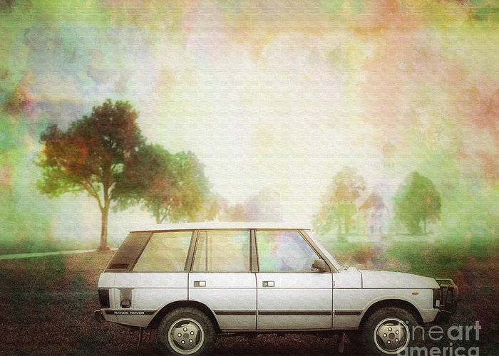 Digital Art Greeting Card featuring the photograph Joys Of Refined Motoring by Edmund Nagele