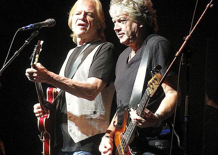 Justin Hayward And John Lodge Of The Moody Blues Photograph By Melinda Saminski