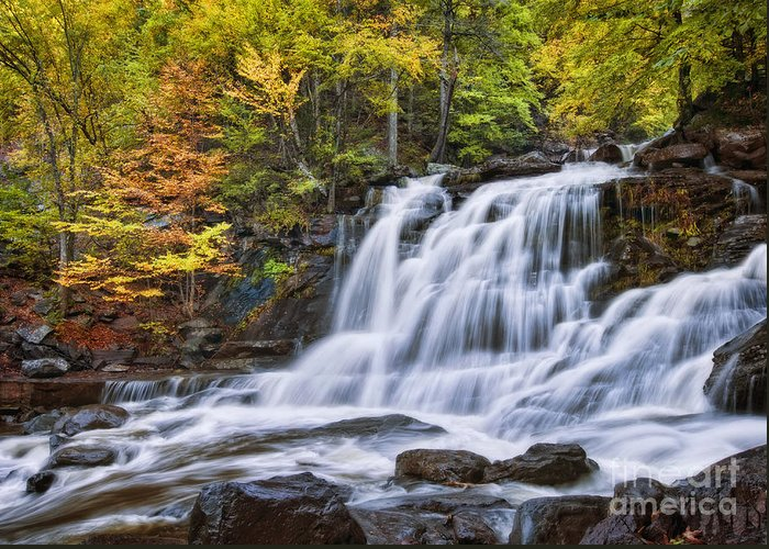 Falls Greeting Card featuring the photograph Kaaterskill Falls by Claudia Kuhn